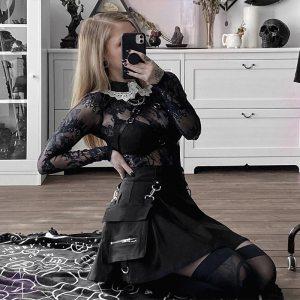Jupe gothique - Bandoulière