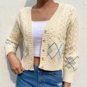 Pull tricoté - Style vintage