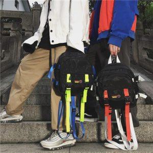 Sac à dos streetwear - Fluo