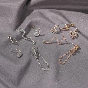 Boucles d'oreilles streetwear - Serpent