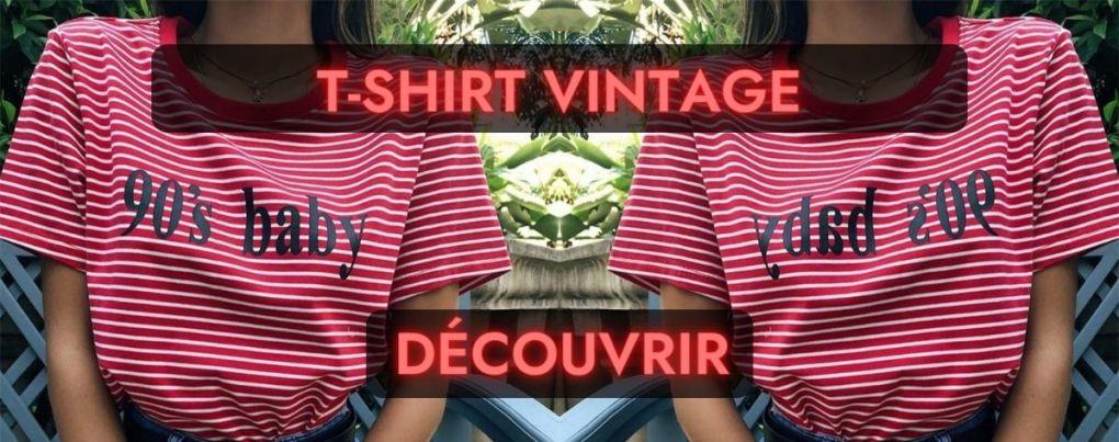 T-shirt vintage rouge 90's