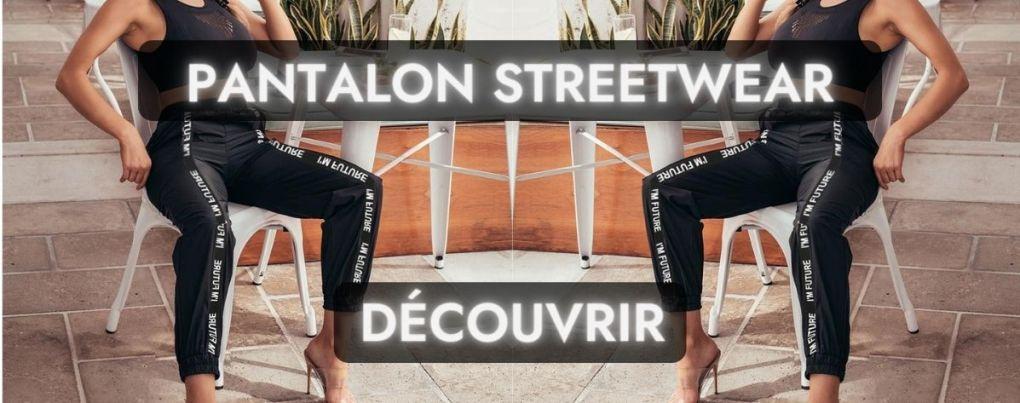 Pantalon streetwear futur