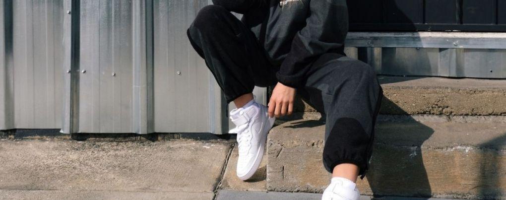 Pantalon streetwear noir