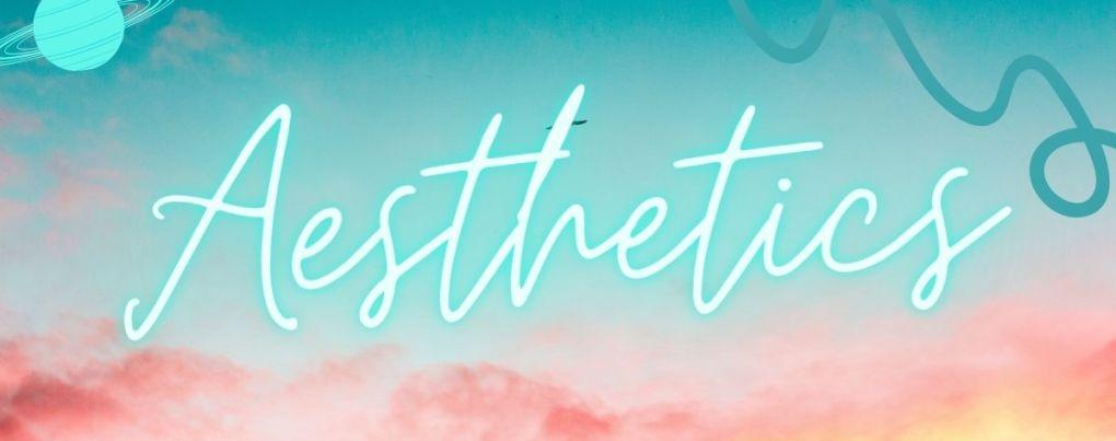 Aesthetic bleu