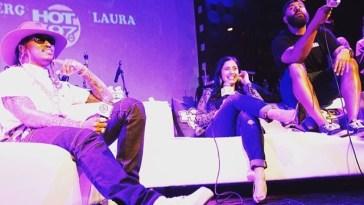 Future, Laura Stylez and Ebro (Hot 97) | Courtesy of Chantel J