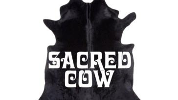 """The Black Opera's """"Sacred Cow"""" cover art"""