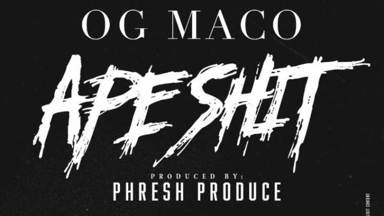 """OG Maco's """"Ape Shit"""" cover art"""