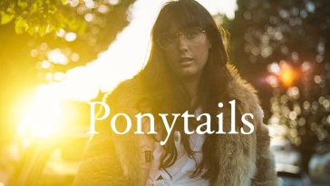Ponytails EP cover art