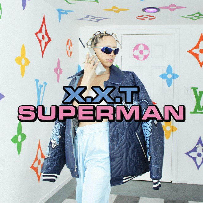 XXT's 'Superman' cover art
