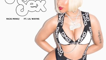 Nicki Minaj's cover art for Rich Sex featuring Lil Wayne