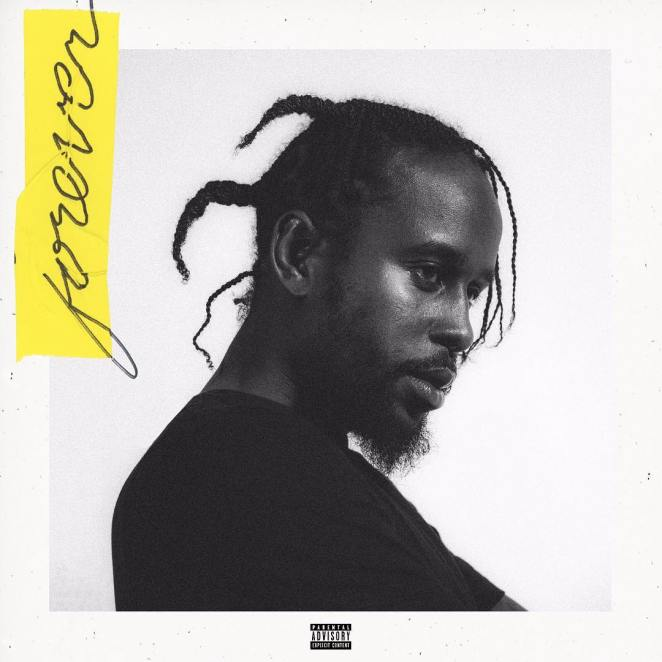 Popcaan's cover art for 'Forever'