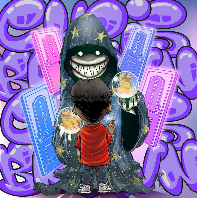 Chris Brown's cover art for Undecided