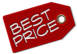 A price tag