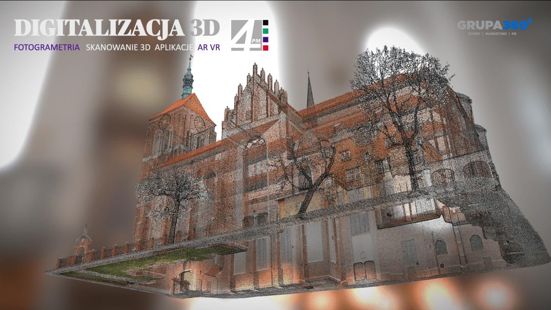 Digitalizacja obiektu wraz z historycznym wyposażeniem – skanowanie, aplikacja AR, kolekcja www, fotogrametria i modele 3D