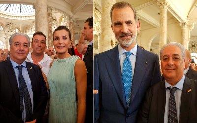 Presente ALCON-3 S.L en recepción a la colectividad española en La Habana