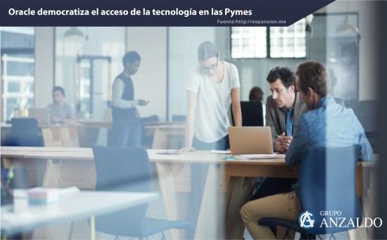 Oracle democratiza el acceso de la tecnología en las Pymes
