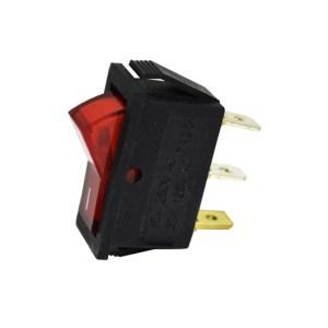 Botão Interruptor retangular estreito