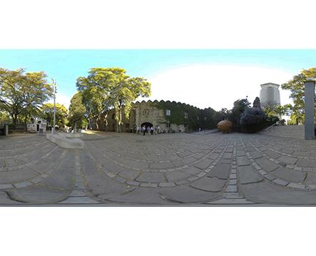 360 Barcelona Museo marítimo jardines 01 miniatura