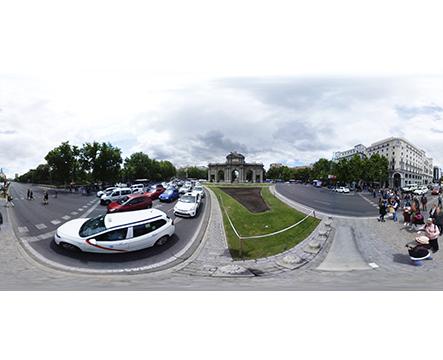 360 Madrid Puerta de Alcalá miniatura