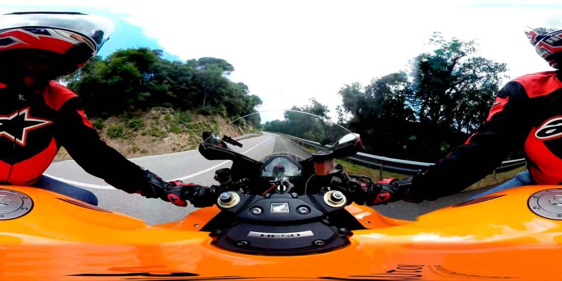 Conducción de moto