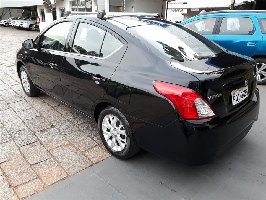 NISSAN VERSA 1.6 16V FLEX SV 4P MANUAL full