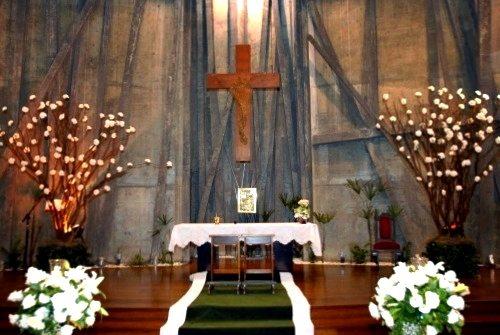 Paróquia Nossa Sra Mãe do Salvador Cruz Torta