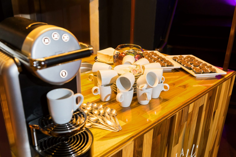Gran Finale: Estação de Café para seu Casamento