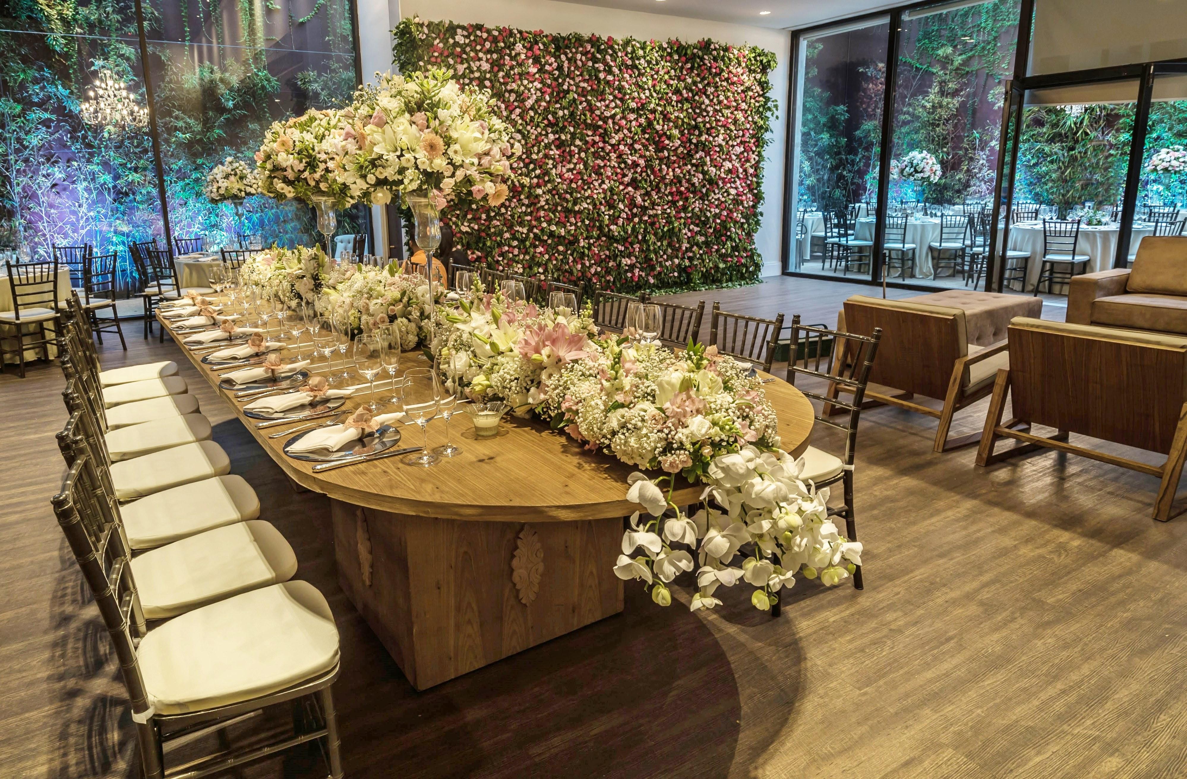 Muro de flores: uma tendência encantadora!