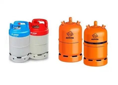Sistema de gas propano y butano