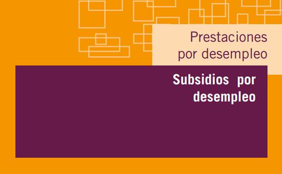 subsidio por desempleo