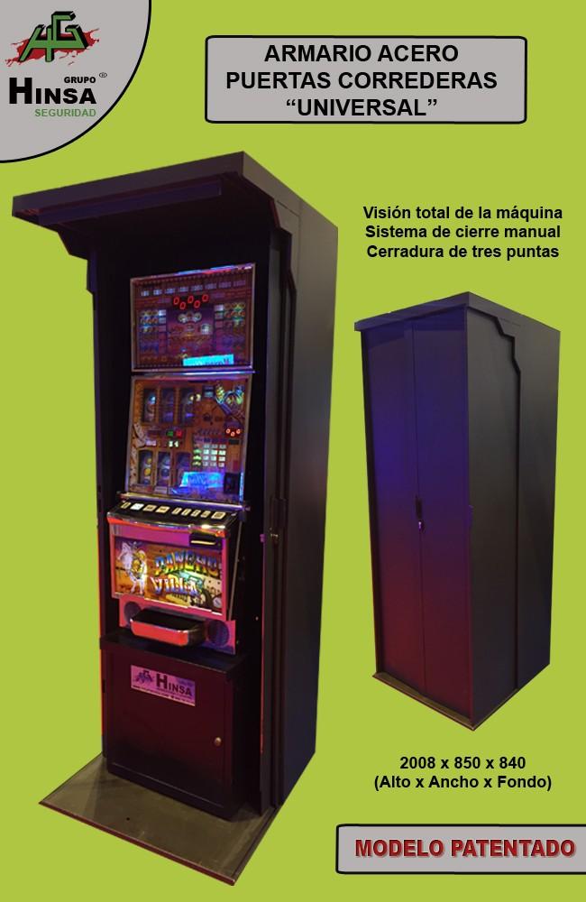 Armario de seguridad para máquinas recreativas o vending