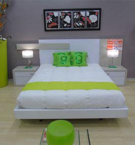 Dormitorio Blanco Nácar