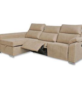 Chaiselongue 280 cm, 2 eléctricos, Elegance / Caramelo s30 VPV
