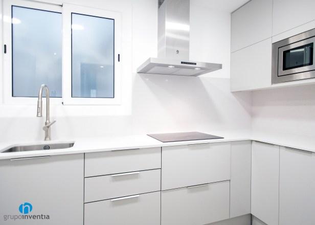 cocina blanca