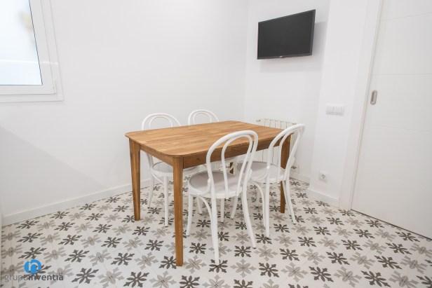 mesa madera cocina