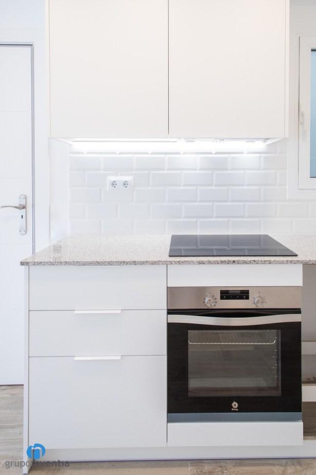 horno integrado cocina