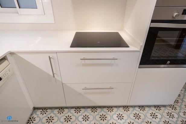 mueble blanco cocina