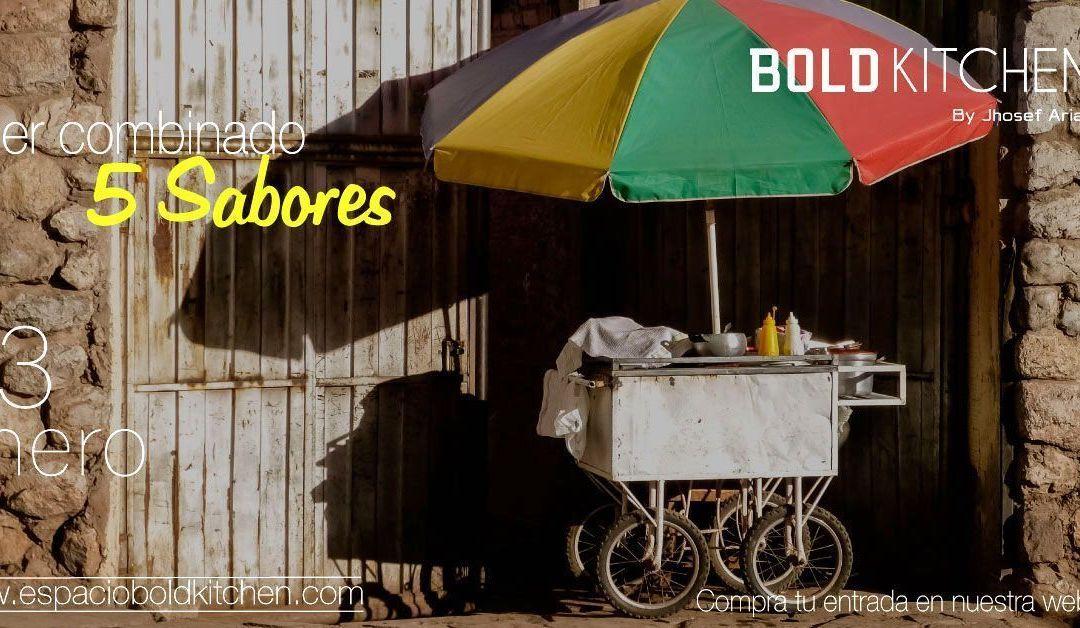 Taller de Cocina Combinado 5 Sabores Perú – 23 Enero 2019
