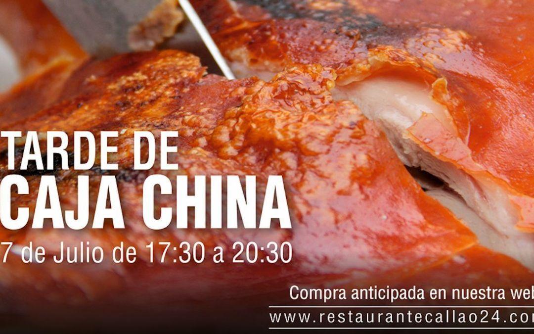En Callao24 Tarde de Caja China «Asado de Chancho con Carapulcra» – 7 de Julio