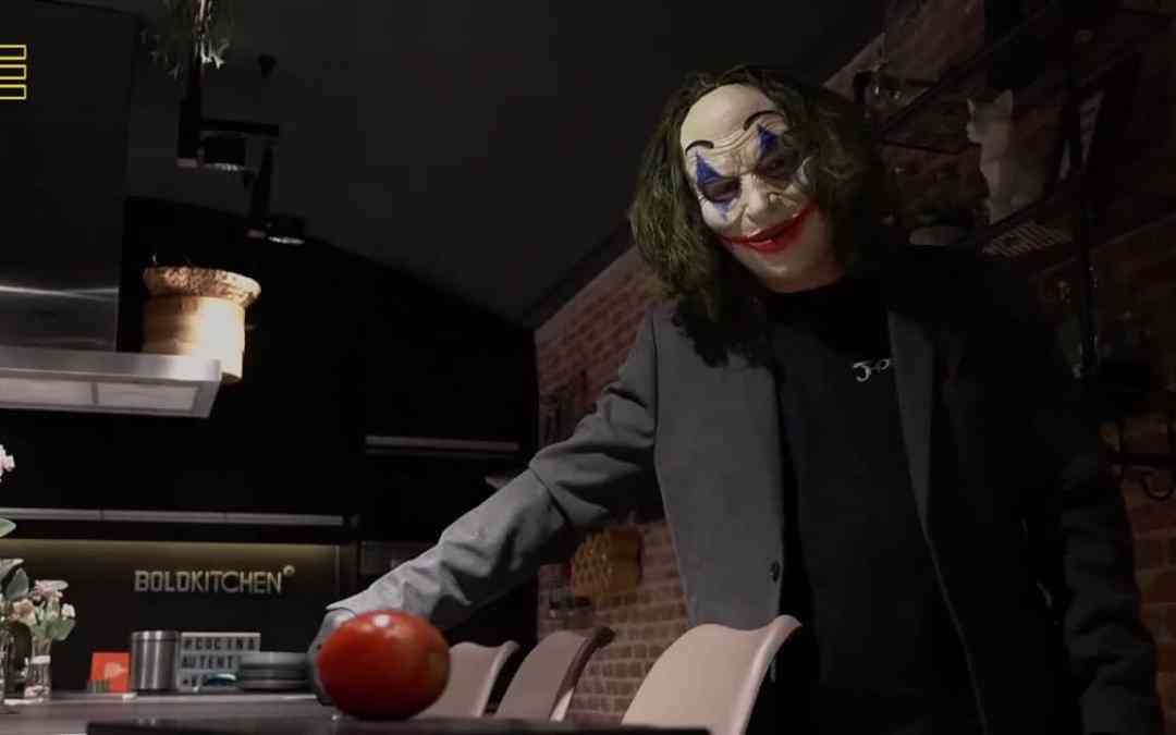 Joker visita el grupo Jhosef Arias,