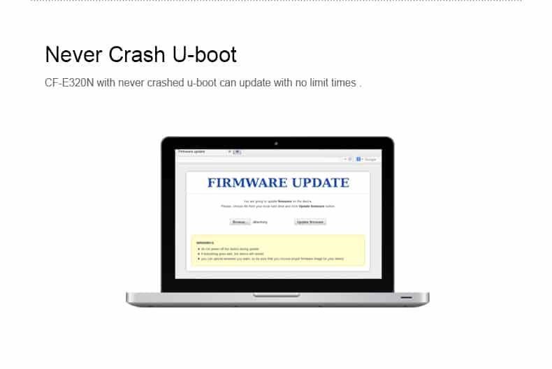 COMFAST CF-E320N never crash u-boot