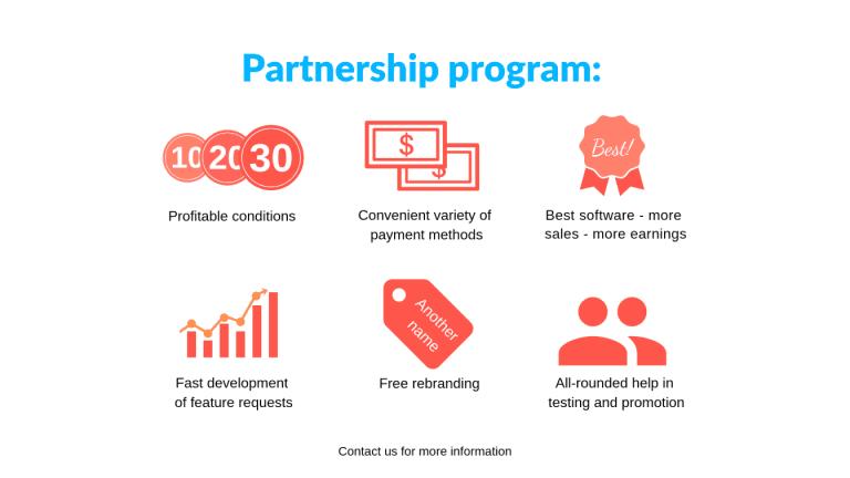 [Para revendedores  ] Programa de asociación beneficiosa