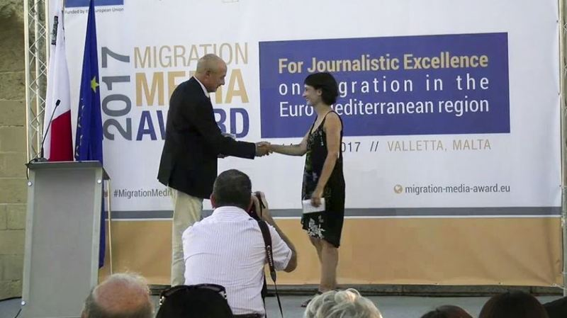 premio RR Migration Media Award