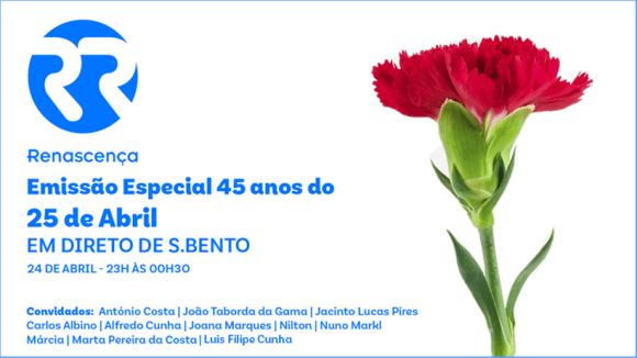 emissão especial 25 abril