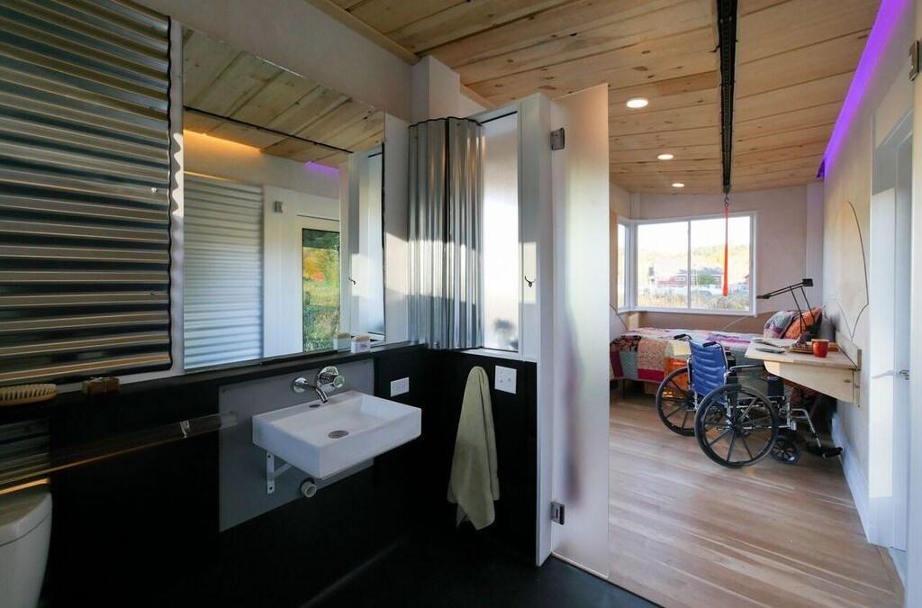 Diseñar su casa teniendo en mente a los usuarios de sillas de ruedas