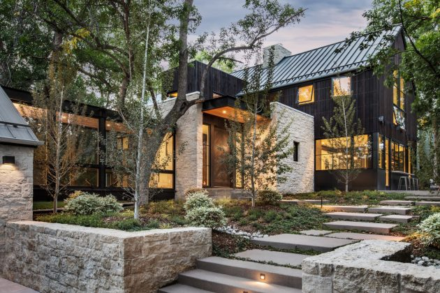 Residencia Chickadee de Surround Architecture en Boulder, Colorado