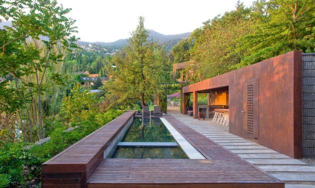 Loft Lo Curro por Matias Silva Aldunate Architect en Santiago, Chile