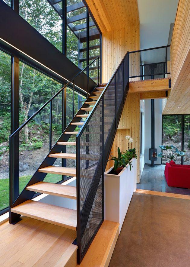 La Chasse Galerie Home de Thellend Fortin Architectes en Montreal, Canadá