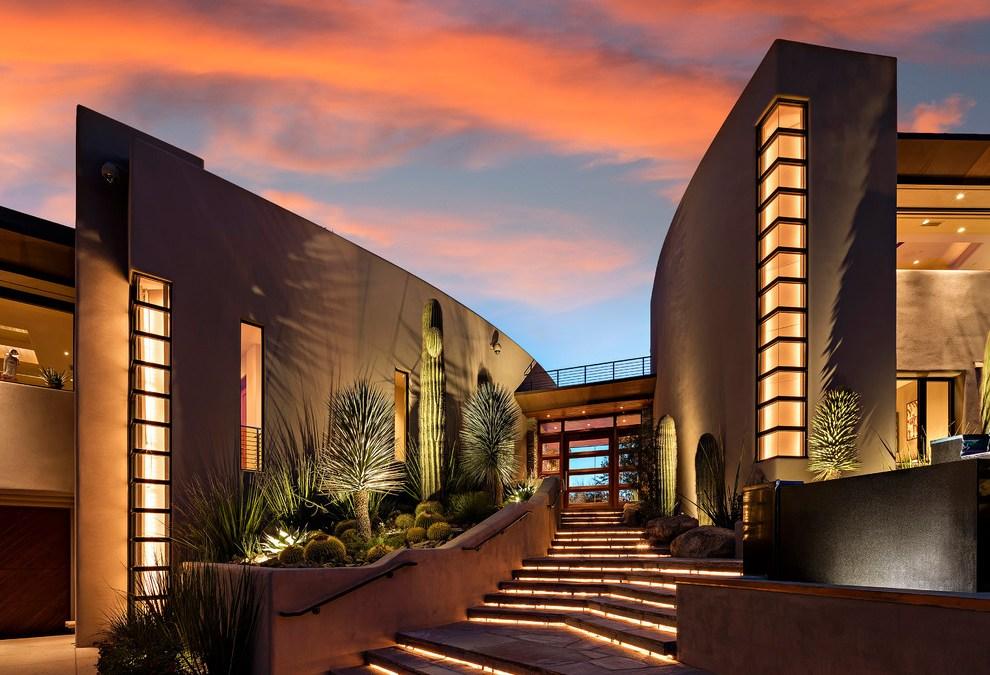 15 diseños sobresalientes de Southwestern Entryway en los que te enamorarás