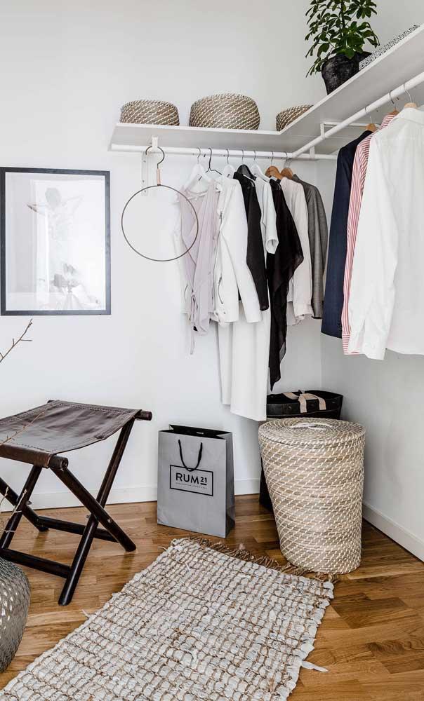 10 armarios abiertos más funcionales y hermosos para tu hogar